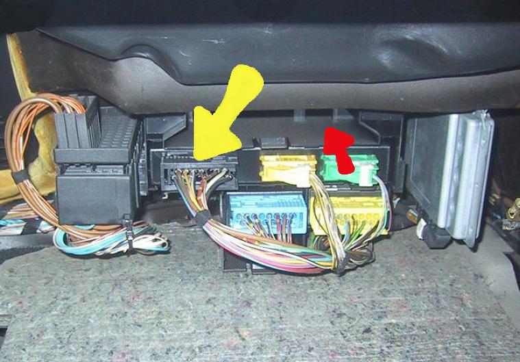 [BMW 320 i E36] Branchement kit télécommande sur touring Centralisation_E36_02